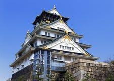 Osaka Castle in Osaka, Japan. Stock Photography