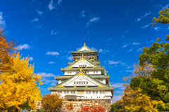 Osaka Castle in Osaka, Japan. Stock Image