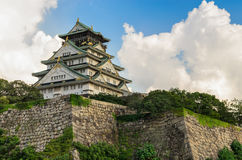 Osaka Castle in Osaka Japan Royalty Free Stock Images