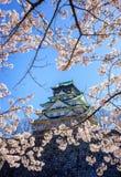 Osaka castle, Osaka, Japan Stock Image