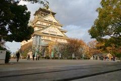 Osaka Castle in Osaka, Japan Stock Image
