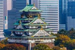 Osaka Castle in Osaka, Japan Royalty Free Stock Photos