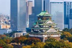 Osaka Castle in Osaka, Japan Royalty Free Stock Image