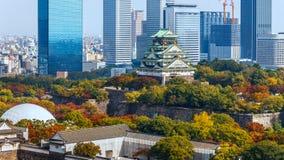 Osaka Castle in Osaka, Japan Stock Photos