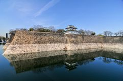 Osaka Castle - Osaka, Japan. One of Japan`s most famous castles Royalty Free Stock Photos