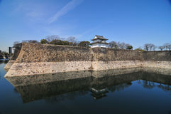 Osaka Castle - Osaka, Japan. One of Japan's most famous castles Stock Images