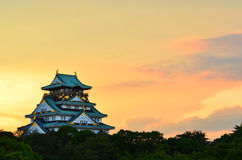 Osaka Castle in Osaka, Japan Stock Photos