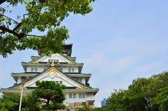 Osaka Castle, Osaka, Japão Imagens de Stock Royalty Free