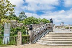 Osaka castle or Osaka-jo, the landmark of Osaka Stock Photos