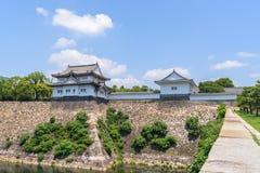 Osaka castle or Osaka-jo, the lanmark of Osaka Stock Image