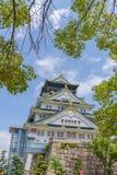 Osaka castle or Osaka-jo, the lanmark of Osaka Stock Photography