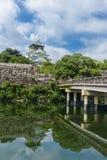 Osaka castle or Osaka-jo, the lanmark of Osaka Royalty Free Stock Photography