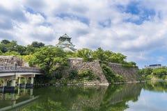 Osaka castle or Osaka-jo, the lanmark of Osaka Royalty Free Stock Images
