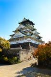 Osaka Castle pendant la journée images libres de droits