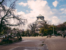 Osaka Castle Spring 2013 Royalty Free Stock Photo
