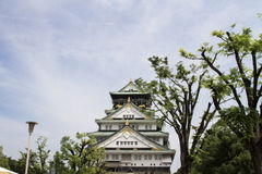Osaka castle Stock Photography