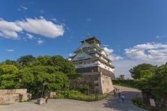Osaka Castle in Sunny Day Stock Photography