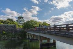 Osaka Castle in Sunny Day Royalty Free Stock Photo