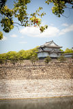 Osaka castle turret Royalty Free Stock Images