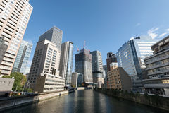 Osaka Central Business District photo stock
