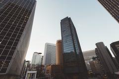 Osaka Central Business District images libres de droits