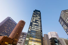 Osaka Central Business District photographie stock