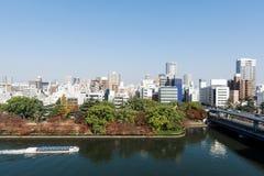 Osaka Central Business District image libre de droits