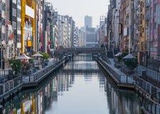 Osaka City Image stock