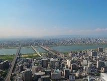Osaka City Photographie stock