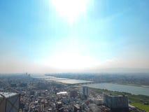 Osaka City Fotografie Stock