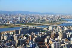 Osaka City Royaltyfria Foton