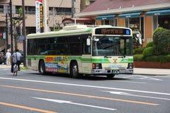 Osaka city bus Royalty Free Stock Images