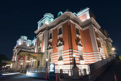 Osaka city central public hall Stock Photography