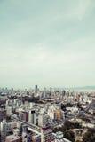 Osaka city landscape, Japan. City landscape.Tennouji Osaka in Japan Royalty Free Stock Images