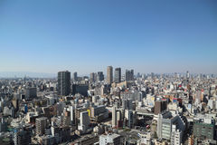 Osaka city Royalty Free Stock Photo