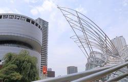 Contemporary architecture Osaka Japan Stock Photos