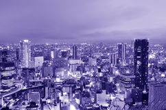 Osaka Cityscape Royalty Free Stock Photography
