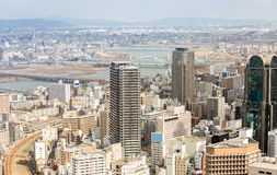 Osaka Cityscape Royalty Free Stock Photos