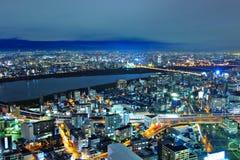 Osaka cityscape Royalty Free Stock Photos