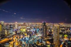 Osaka Cityscape stock foto