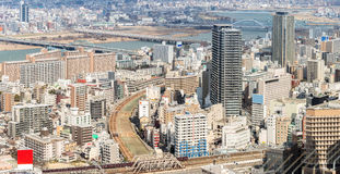 Osaka Cityscape Stock Photography