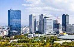 Osaka Cityscape Stock Photo