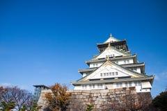 Osaka con el cielo hermoso fotos de archivo libres de regalías
