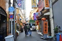 OSAKA - 23 DE OUTUBRO: Dotonbori o 23 de outubro de 2012 em Osaka, Japão. Foto de Stock