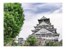Osaka foto de stock royalty free