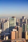 Osaka flyg- sikt Royaltyfri Bild