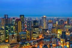 Osaka, Giappone Fotografie Stock Libere da Diritti