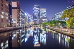 Osaka, Giappone Immagini Stock Libere da Diritti