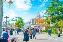OSAKA, GIAPPONE - 1° dicembre 2015: Studi universali Giappone (USJ) Immagine Stock