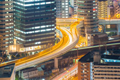 Osaka Highway Royalty Free Stock Photography
